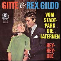 Cover Gitte & Rex Gildo - Vom Stadtpark die Laternen