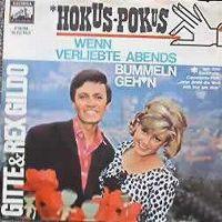 Cover Gitte & Rex Gildo - Wenn Verliebte abends bummeln geh'n
