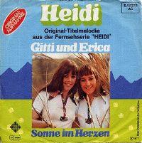 Cover Gitti und Erica - Heidi