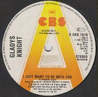Cover Gladys Knight - I Just Want To Be With You
