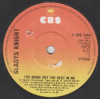 Cover Gladys Knight - You Bring Out The Best In Me
