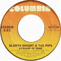 Cover Gladys Knight & The Pips - A Friend Of Mine