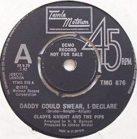 Cover Gladys Knight & The Pips - Daddy Could Swear, I Declare