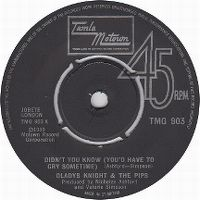 Cover Gladys Knight & The Pips - Didn't You Know (You'd Have To Cry Sometime)