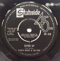 Cover Gladys Knight & The Pips - Giving Up