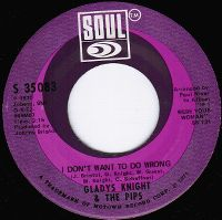 Cover Gladys Knight & The Pips - I Don't Want To Do Wrong