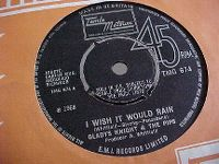 Cover Gladys Knight & The Pips - I Wish It Would Rain