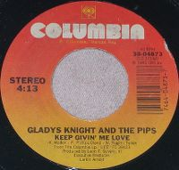 Cover Gladys Knight & The Pips - Keep Givin' Me Love
