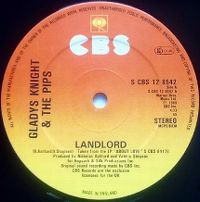 Cover Gladys Knight & The Pips - Landlord