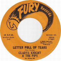 Cover Gladys Knight & The Pips - Letter Full Of Tears