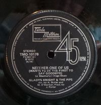 Cover Gladys Knight & The Pips - Neither One Of Us (Wants To Be The First To Say Goodbye)