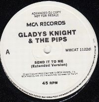 Cover Gladys Knight & The Pips - Send It To Me