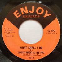Cover Gladys Knight & The Pips - What Shall I Do