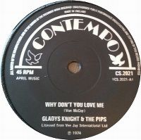 Cover Gladys Knight & The Pips - Why Don't You Love Me