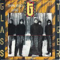 Cover Glass Tiger - Thin Red Line