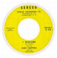 Cover Glen Campbell With The Glen-Aires - I Wonder