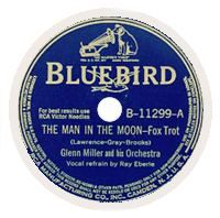 Cover Glenn Miller & His Orchestra / Ray Eberle - The Man In The Moon