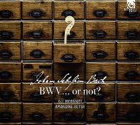 Cover Gli Incogniti / Amandine Beyer - Johann Sebastian Bach: BWV... Or Not?