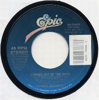 Cover Gloria Estefan - Coming Out Of The Dark