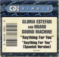 Cover Gloria Estefan And Miami Sound Machine - Anything For You