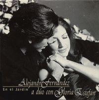 Cover Gloria Estefan con Alejandro Fernández - En el jardin