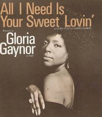 Cover Gloria Gaynor - All I Need Is Your Sweet Loving