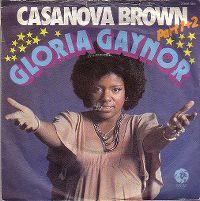 Cover Gloria Gaynor - Casanova Brown