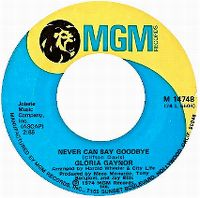 Cover Gloria Gaynor - Never Can Say Goodbye