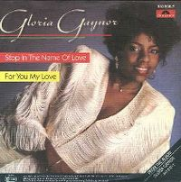 Cover Gloria Gaynor - Stop In The Name Of Love