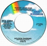 Cover Golden Earring - Radar Love (Live)