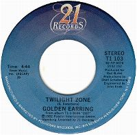 Cover Golden Earring - Twilight Zone