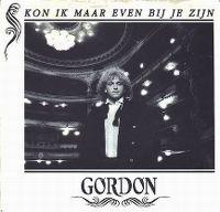 Cover Gordon - Kon ik maar even bij je zijn