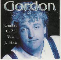 Cover Gordon - Omdat ik zo van je hou