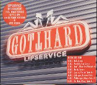 Cover Gotthard - Lipservice