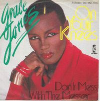 Cover Grace Jones - On Your Knees