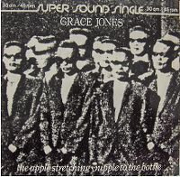 Cover Grace Jones - The Apple Stretching