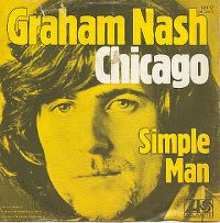 Cover Graham Nash - Chicago