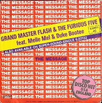 Cover Grandmaster Flash & The Furious Five feat. Melle Mel & Duke Bootee - The Message