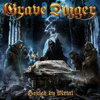 Cover Grave Digger - Healed By Metal