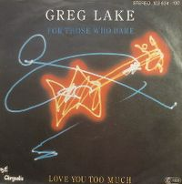 Cover Greg Lake - For Those Who Dare