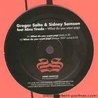 Cover Gregor Salto & Sidney Samson - What Do You Want Papi