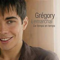 Cover Grégory Lemarchal - De temps en temps