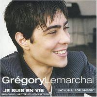 Cover Grégory Lemarchal - Je suis en vie