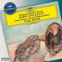 Cover Günter Hogner / Wiener Philharmoniker / Karl Böhm - Wolfgang Amadeus Mozart: Horn Concertos