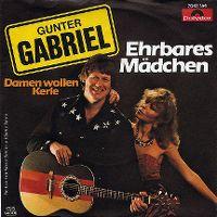 Cover Gunter Gabriel - Ehrbares Mädchen