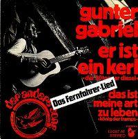 Cover Gunter Gabriel - Er ist ein Kerl (der 30tonner Diesel)
