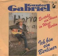 Cover Gunter Gabriel - Es steht ein Haus in West-Berlin