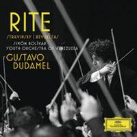 Cover Gustavo Dudamel - La sacre du printemps