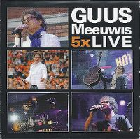 Cover Guus Meeuwis - 5x Live