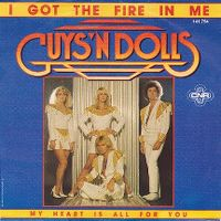 Cover Guys 'N' Dolls - I Got The Fire In Me